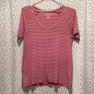 American eagle outfitters soft and sexy tee rose